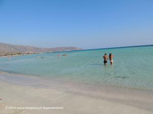 Creta spiaggia mare e sole