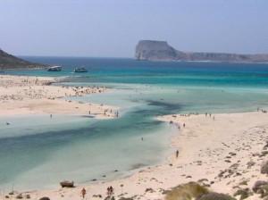 Chania, spiaggia, Creta