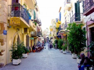 Chania, città, Creta