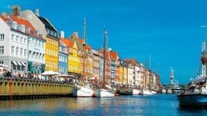 Copenaghen canale scorcio